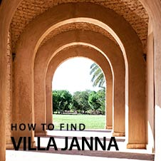 How to find - Villa Janna