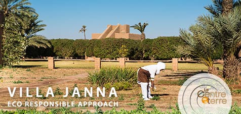 Eco responsible approach - Villa Janna