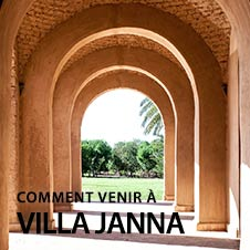Comment venir - Villa Janna